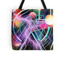 Inside the smallest particles of matter Tote Bag