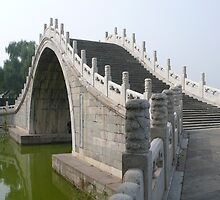 Summer Palace bridge, Beijing China by bluemobi