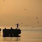Fishing in Kingston Harbor by claudefletcher