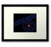 Twilight Sparkle's Stamp Framed Print