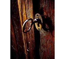 Key In Lock Photographic Print