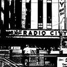 Radio City- Stamp  by Emma  Pettis
