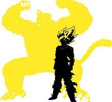 Goku the Super Saiyan by TheDragonBaller