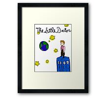 The Little Doctor (open background) Framed Print