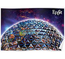 Attractions of Epcot Poster