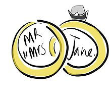 Mr and Mrs Jane  by mentalark