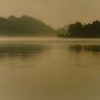 Misty lake by Brett Trafford