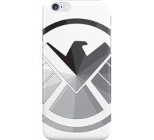 S.H.I.E.L.D Monochrome iPhone Case/Skin