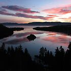 Emerald Bay, Lake Tahoe, USA by Anthony Edwards
