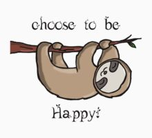 Choose to Be Happy Kids Clothes