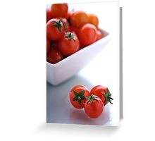 A Taste of Tomato. Greeting Card