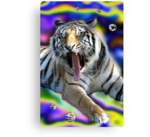 Tiger Two Canvas Print