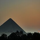 Pyramid Sunset by Roddy Atkinson
