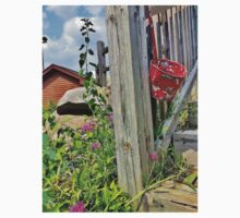 Hanging Red Withered Bucket  Kids Clothes