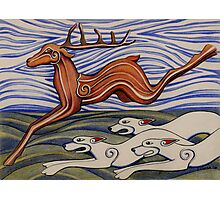 Hounds of Arawn Photographic Print