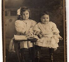ABOUT 1909 MY MOTHER AND HER SISTER by DIANEPEAREN