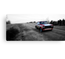 Ford Escort Mk2 Rally Car Canvas Print