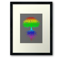 Sunshine, Lollypops and Rainbows Framed Print