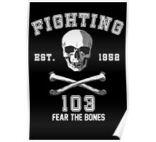 Fighting 103 Jolly Rogers Poster