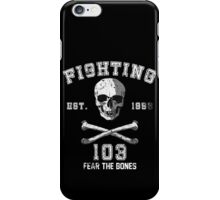 Fighting 103 Jolly Rogers - Warn Look iPhone Case/Skin