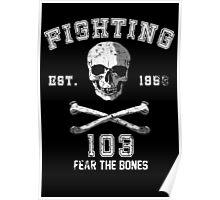 Fighting 103 Jolly Rogers - Warn Look Poster