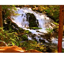Fabulous free flowing Photographic Print