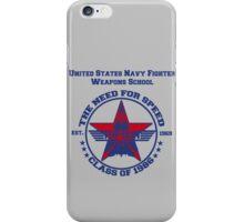 Top Gun Class of 86 - Weapon School iPhone Case/Skin