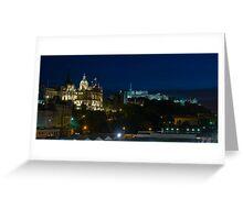 Edinburgh Castle by night Greeting Card