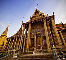 Grand Palace Complex, Bangkok Thailand by Kelly McGill