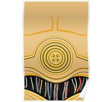 C3PO Pillow Poster
