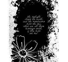 Shelley - Poetry Photographic Print