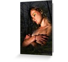 The Angel of Night Greeting Card