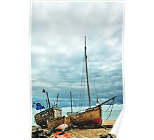 Boats at Deal 3 Poster