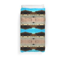 Hiking on a winter afternoon | landscape photography Duvet Cover