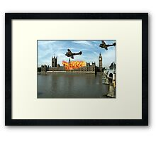London - Parliament Framed Print
