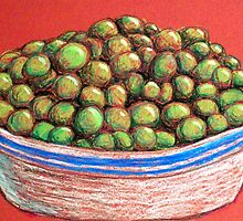 Peas by Alan Hogan