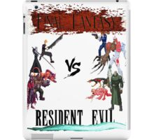 Final Fantasy VS Resident Evil iPad Case/Skin