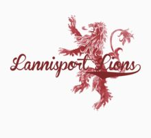 Lannister Lions | Game of Thrones by mrkyleyeomans
