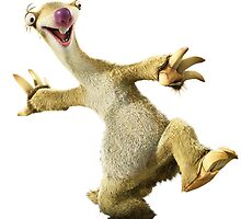 Ice Age - Sid the sloth by Vitalia