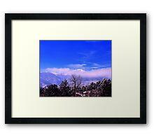 Sunrise Tranquility Framed Print