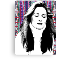 Meryl Streep is more hip than you. Canvas Print