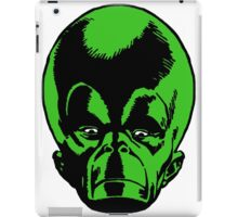 Big Green Mekon Head  iPad Case/Skin