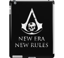 Assassins Creed Black Flag New Era new rules iPad Case/Skin