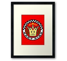 Kart King Framed Print