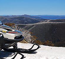 Ski Patrol by Andrew Clinkaberry