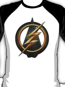 CW Arrow and The Flash Crossover Symbol Shirt T-Shirt