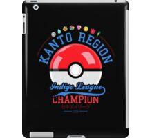 Kanto region champion iPad Case/Skin