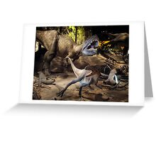 Tyrannosaurus Rex @ Royal Tyrrell Museum of Palaeontology Greeting Card