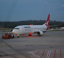 TAXI OUT TO RUNWAY by leanimal