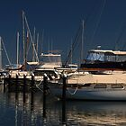 Challenger Boat Harbour - Fremantle by Barry  Dux